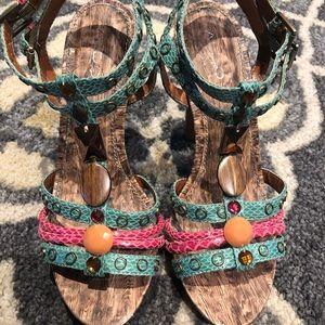 Aldo heels. Their size 39 (fits like an 9)
